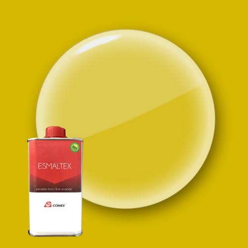 Esmalte amarillo limón 111 coniex envase 1 kg y 250 gr