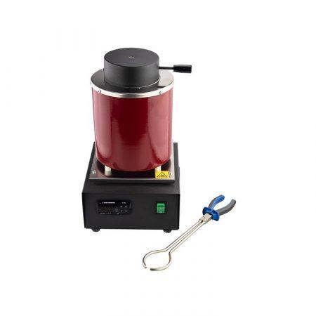 Horno eléctrico para fundir piezas de joyería. Compra Online y recíbelo en 24 horas. Con crisol y tenazas.