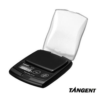 Balanza portatil para pesar joyas con precisión de 0.1 gramos. Pesa hasta 200 gramos. Funciona con pilas.