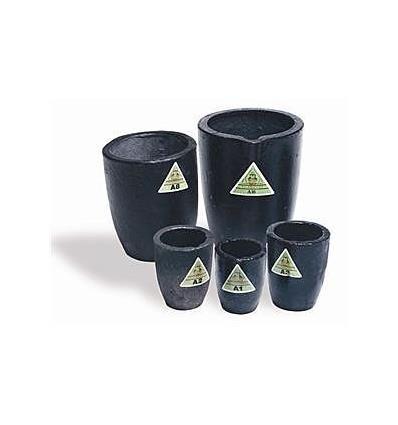 Crisol de grafito para horno de inducción Salamander de Molten Sistem. Para fundido de metales como oro, plata, cobre o latón.
