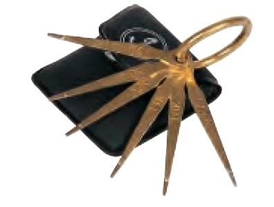 Estrella de toque de seis puntas para analizar oro y plata en joyería al mejor precio. Compra Online en Terriza e Hijos.