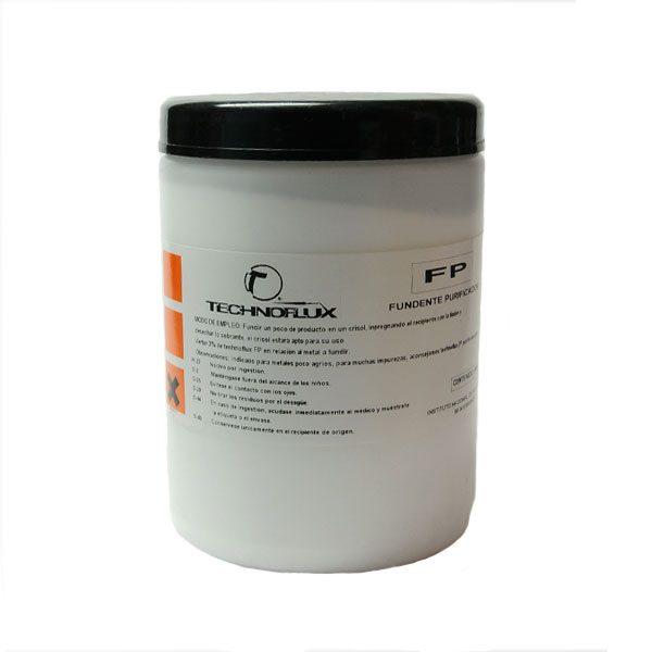 Fundente purificador para plata y oro de Technoflux. 1 Kilo.