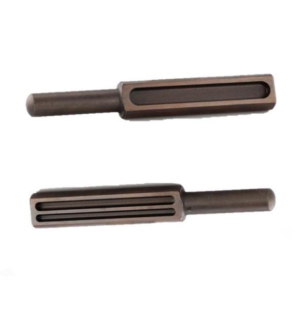Lingotera de 3 canales para el fundido de metales como el oro o plata. Para creación de hilos en joyería.