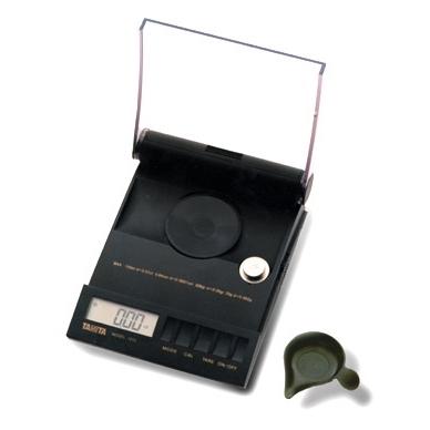 Balanza Quilatero para pesaje de diamantes y otras piedras preciosas TANITA 1210.