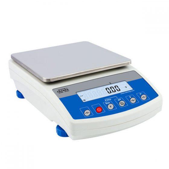 Balanza de precisión verificada para metales preciosos. Balanza RADWAG WLC 6/A2 con pesaje hasta 6 kilos.