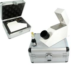 Equipo refractómetro HD completo para joyería.
