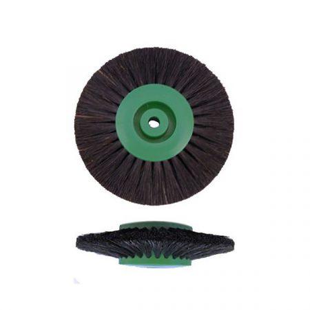 Cepillo circular cerda negra convergente 80mm 3H