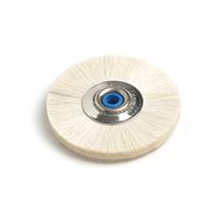 Compra Online Disco de pelo de cabra48mm para pulido en joyería y dental. Calidad Hatho, marca referencia en pulido.