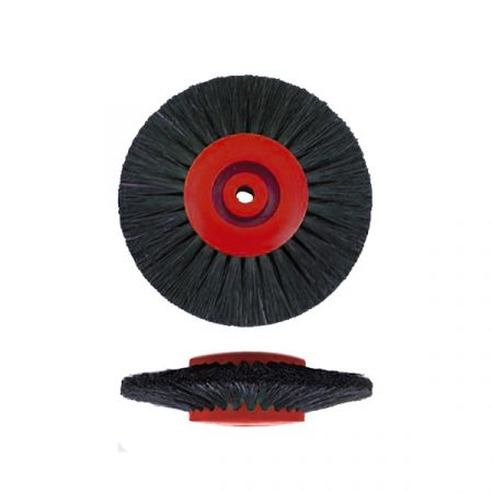 Cepillo circular cerda negra convergente 55mm 3H