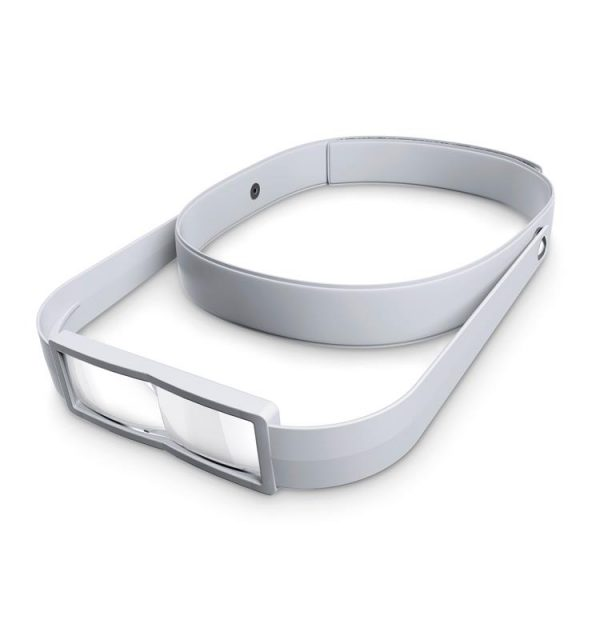 Lupa binocular Bioart 2.5x para joyería, gemología, relojería y dental. Ajustable a la cabeza. Anti UV y IV para una mejor visión.