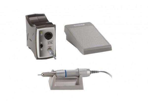 Compra Online Micromoto Strong pequeño para joyería y dental hasta 35000 rpm. Micromotor gris con regulación.