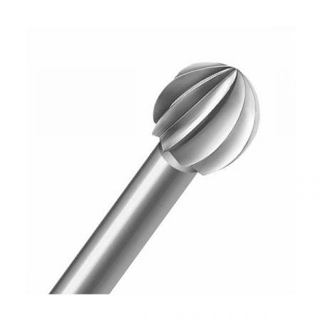 Fresa de acero bola redonda de Maillefer. Para micromotor y taladro. Fresa especial para dental y joyería.