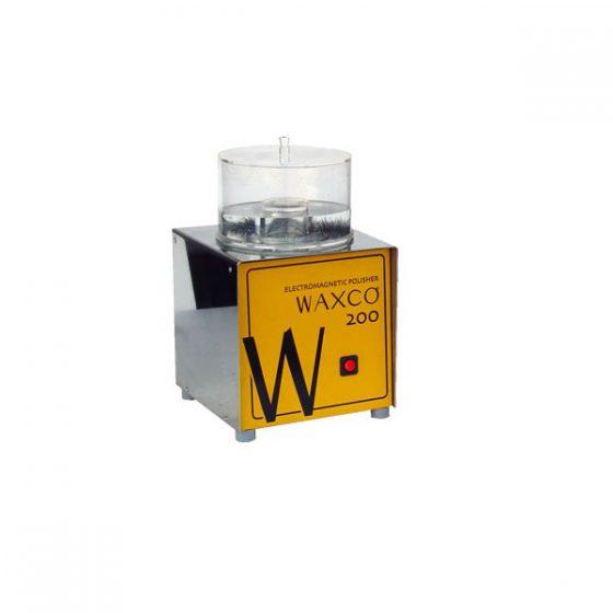 Pulidora magnética WAXCO para Joyería 200. Modelo de alta capacidad para grandes piezas de joyería.