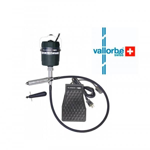 Compra ONline motor de colgar Vallorbe para Joyería. Micromotor de colgar de hasta 20000 rpm con pieza de mano autopmática.