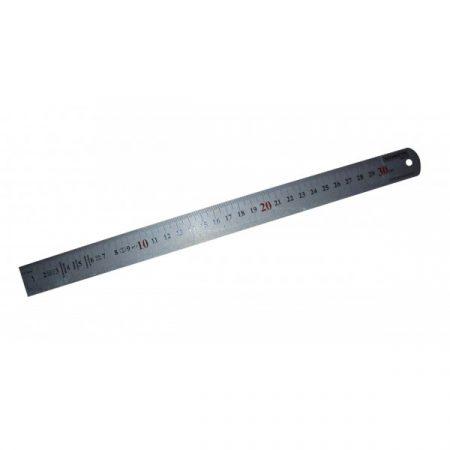 Regla para joyero en acero de alta calidad. Medida 30 centrímetros.