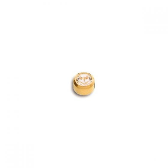 Pendientes de Botón Caflón para Piercing y Joyería