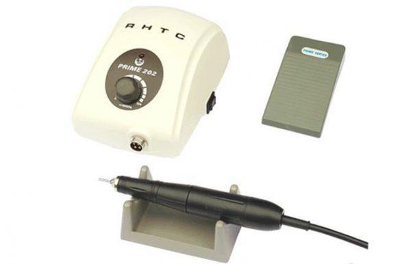 Micromotor pequeño para dental y joyería Renhe Prime 202. Micromotor compacto y fácil de transportar.