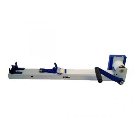Banco de estirar de 1 Mt de cinta con posibilidad de sujetar a la pared o de sobremesa.
