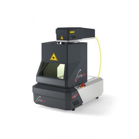 Máquina láser de corte y grabado para joyería Fiberlux Nano de Elettrolaser.