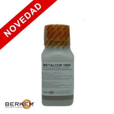 Metalcor V100 es una laca conductiva para hacer conductivo cualquier material como cirstal, resina, madera.