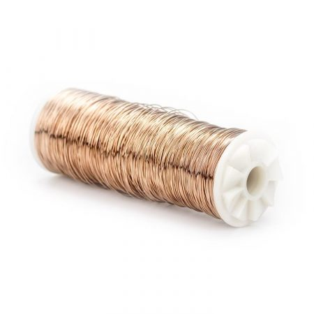 Hilo de cobre para baños galvánicos en joyería.