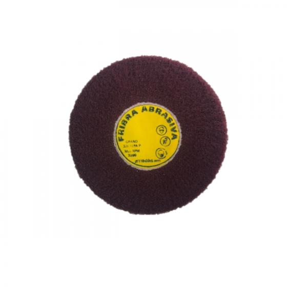 Disco de fibra abrasiva 110×30 grano superfino