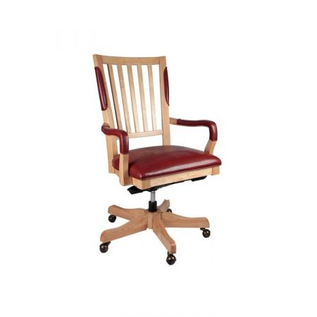 Sillón de joyero Durston de alta gama en madera y piel sintética. Ell mejor sillón de joyero.