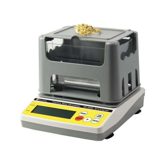 Balanza Densimetro de 300 gramos para compro oro y joyería. Mide pureza y quilataje en una sola operación.