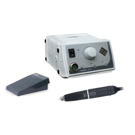 Compra Online Micromotor Marathon para joyería y dentalde inducción. Micromotor de 45000 rpm con pedal. Modelo PM BM40s1.