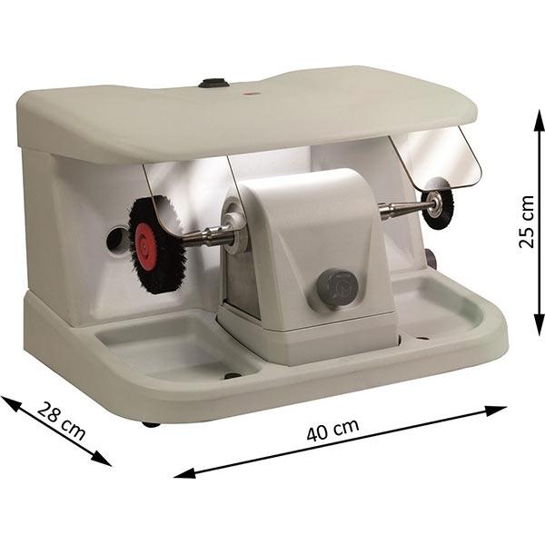 Pulidora de sobremesa minibox para joyería de Mestra