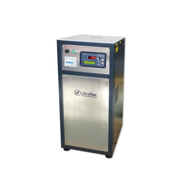 Horno de inducción Ultraflex para el fundido de metales. Horno tipo electrico con hasta 4 kilos de capacidad.