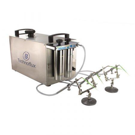 Soldador oxhídrico DRAGO II-E de Technoflux para joyería y dental