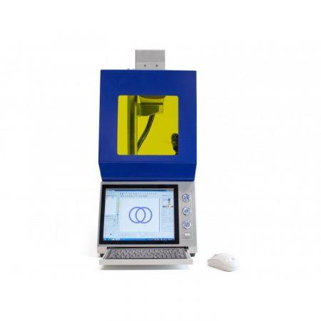 Grabadora compacta láser Technoflux G20 para joyerías.