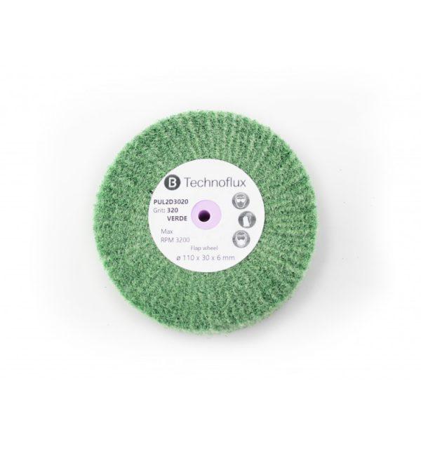 discos-radiales-verdes-110x30-grano-320